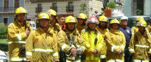 Sí se apoya a los cuerpos de bomberos: Carbajo Zúñiga