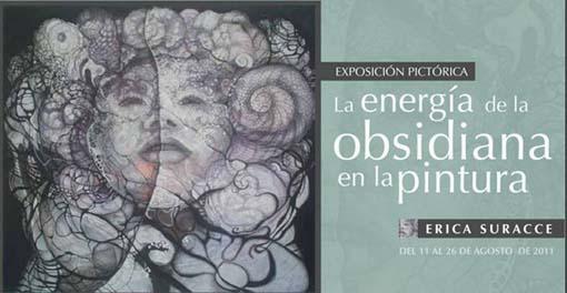 """Nueva exposición en el Congreso del Estado, """"La energía de la obsidiana en la pintura"""""""