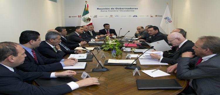 Reunión de gobernadores reforzará plan de seguridad estatal
