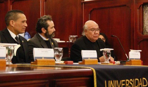 Presentan libro sobre la dogmática jurídica penal con perspectiva de los derechos humanos
