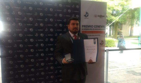 Estudiantes UG obtienen Premio CENEVAL al Desempeño de Excelencia-EGEL