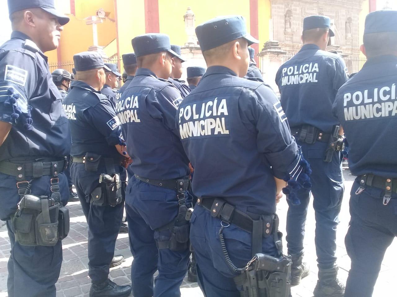 Policías capitalinos sin incremento salarial por desaparición de impuestos a comercios