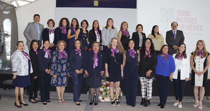 Mujeres empresarias en la UG