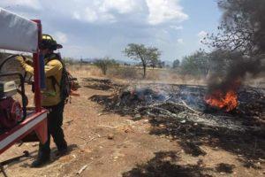 Provoca hombre incendio de 30 hectáreas