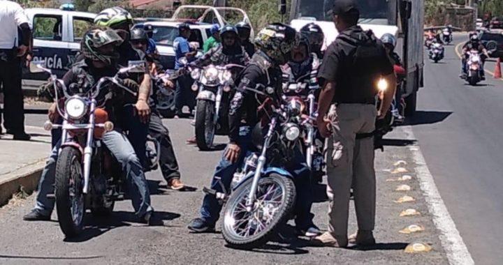 Regresan a su casa a ciclistas, motociclistas y deportistas que iban a Santa Rosa
