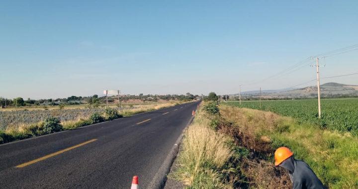 SICOM invierte cerca de 14 mdp en mantenimiento a carreteras