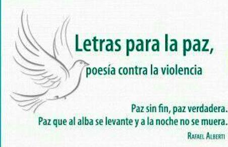 """IEC invita a """"Letras para la paz"""""""